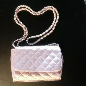 NWOT La Regale pink purse with shoulder strap